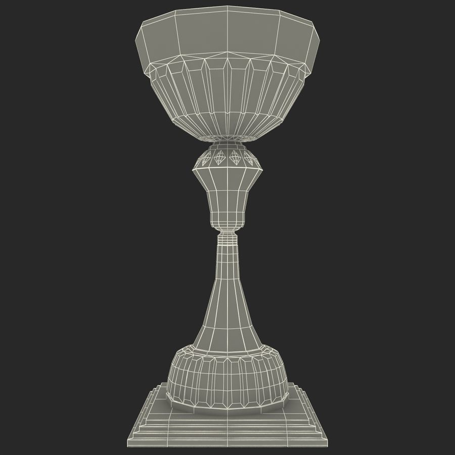 Sports Trophy royalty-free 3d model - Preview no. 12