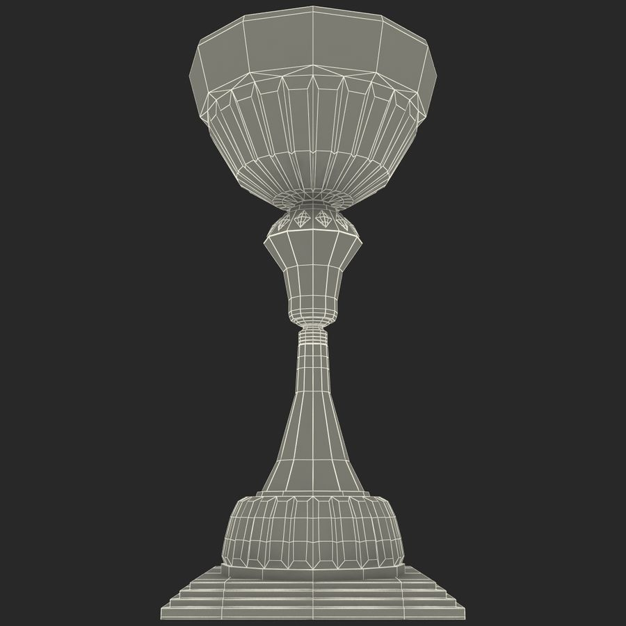 Sports Trophy royalty-free 3d model - Preview no. 15