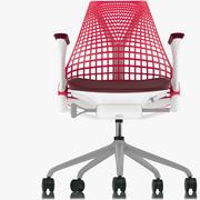 Herman Miller Sayl Red 3d model