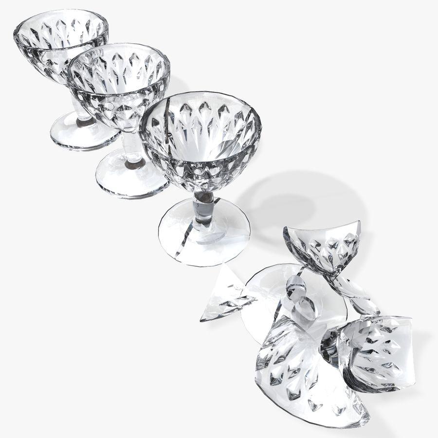 와인 잔 royalty-free 3d model - Preview no. 1