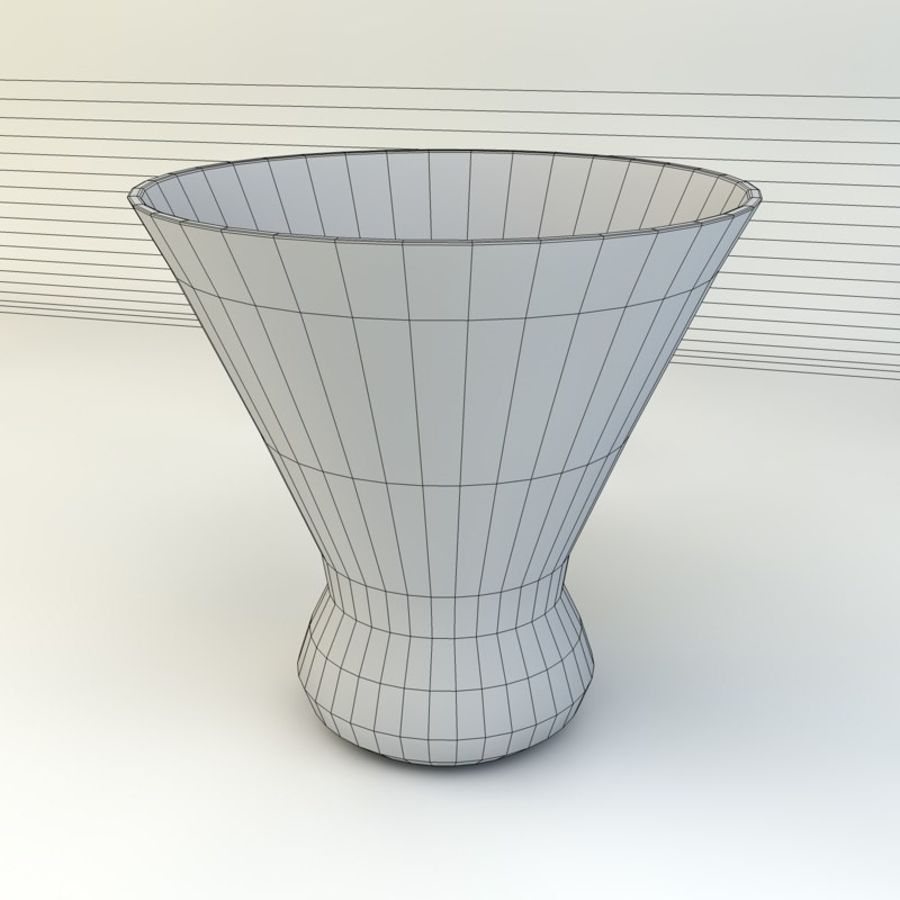 Whiskey Glass royalty-free 3d model - Preview no. 3