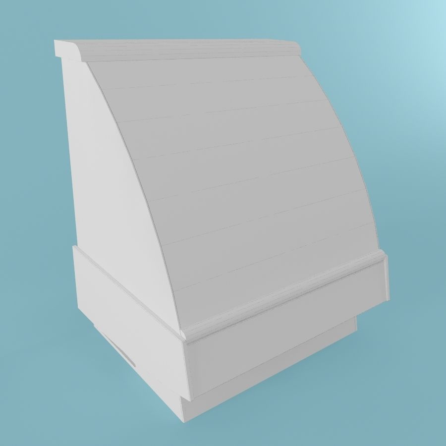 Vitrine royalty-free 3d model - Preview no. 2