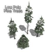 松树树集合 3d model