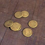 Medieval coins 3d model