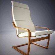 Ikea Poang Sessel 3d model