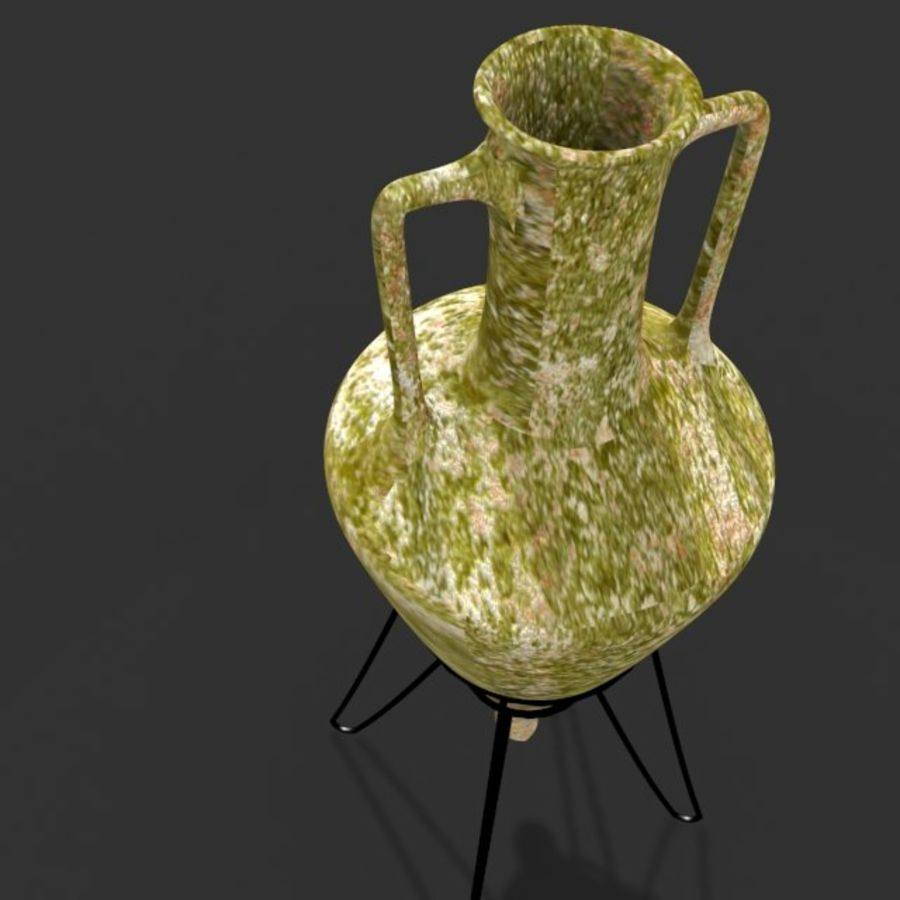 Amphora royalty-free 3d model - Preview no. 4