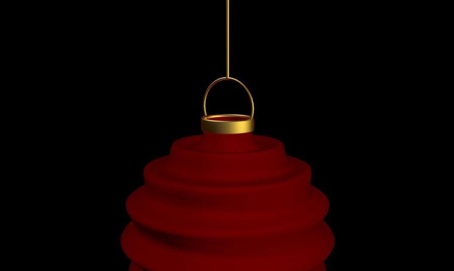 chińska latarnia royalty-free 3d model - Preview no. 2