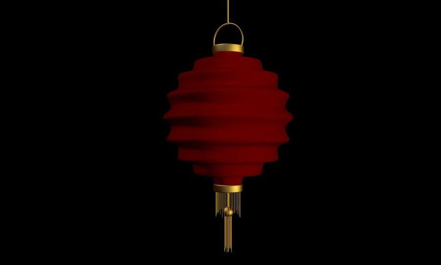 chińska latarnia royalty-free 3d model - Preview no. 1