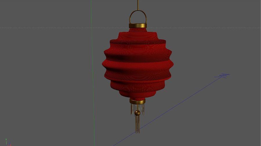 chińska latarnia royalty-free 3d model - Preview no. 6