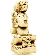Figura Maya Réplica 6 modelo 3d