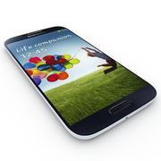 Samsung Galaxy S4 I9500 Blauw 3d model