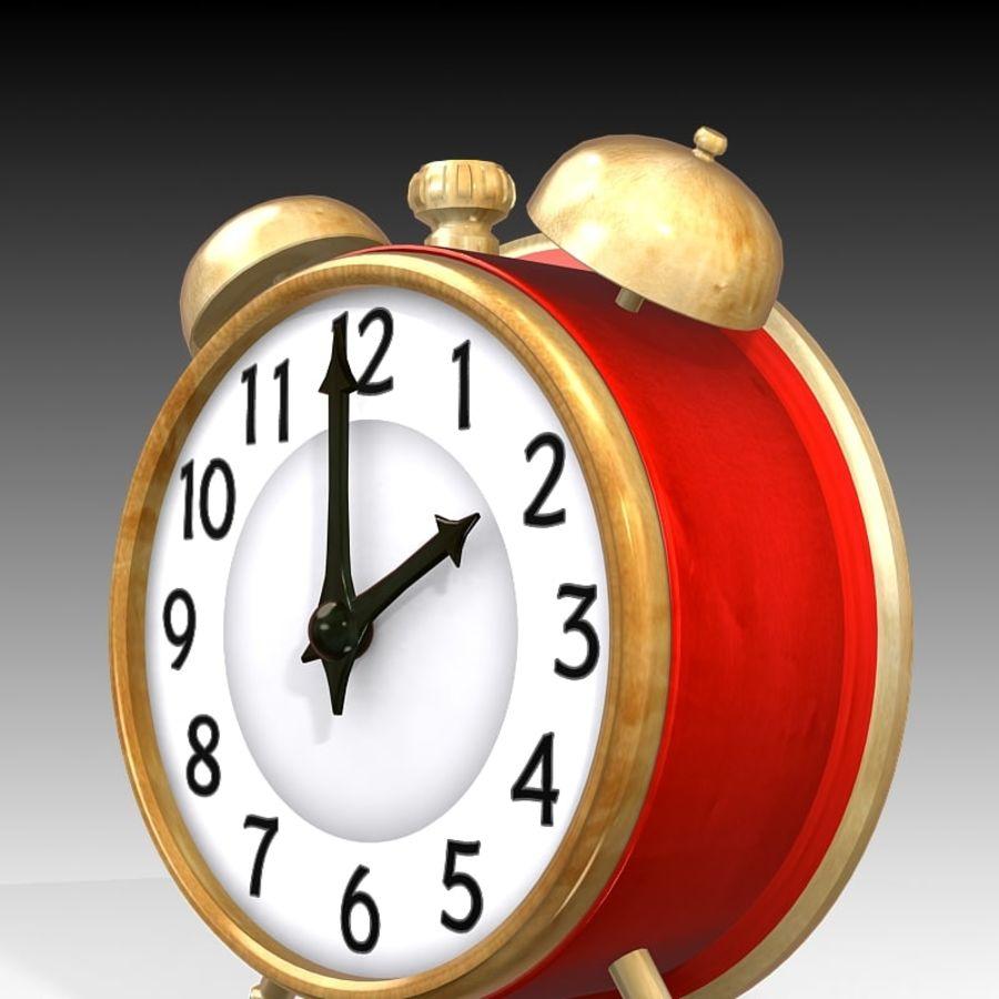 Alarm Clock royalty-free 3d model - Preview no. 5