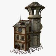 Tower (low poly) 3d model