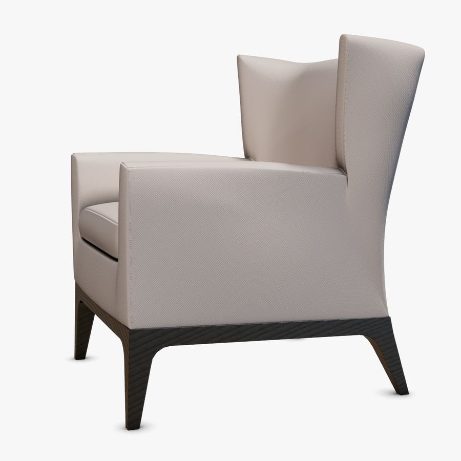 Peachy American Leather Cole Chair 3D Model 18 Ma Obj Fbx Gamerscity Chair Design For Home Gamerscityorg