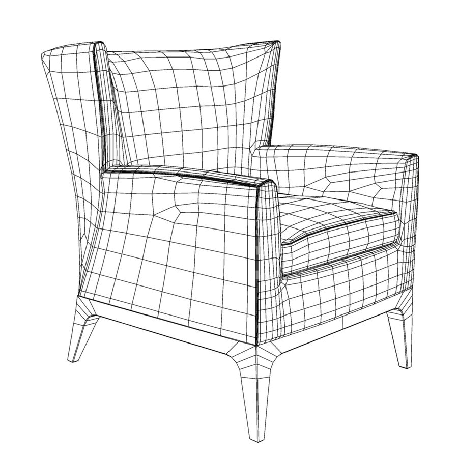 Pleasing American Leather Cole Chair 3D Model 18 Ma Obj Fbx Gamerscity Chair Design For Home Gamerscityorg