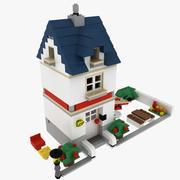House Lego set 5891-2 3d model