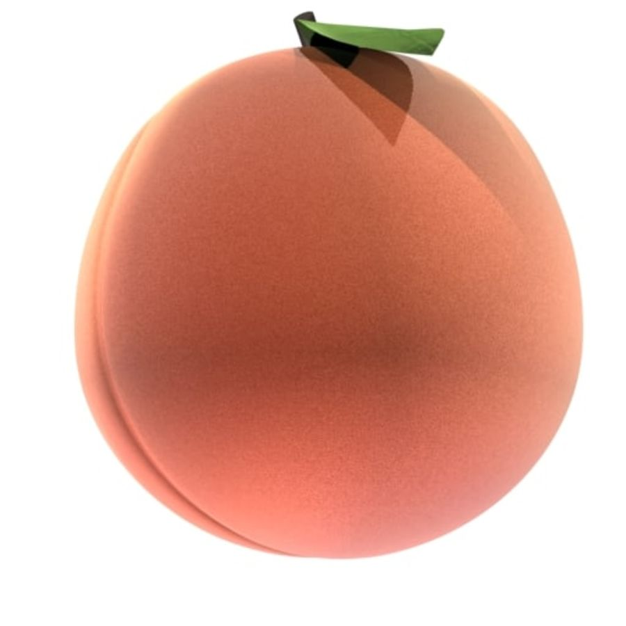 Preloader Peach royalty-free 3d model - Preview no. 1