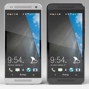 HTC One Mini 3d model