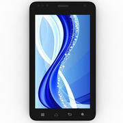 Intex Aqua Style black 3d model