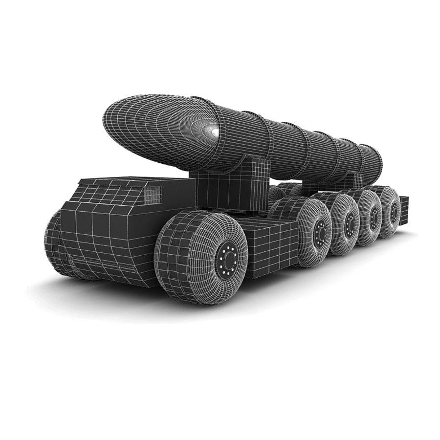 Balistik roketatar ahşap oyuncak royalty-free 3d model - Preview no. 9