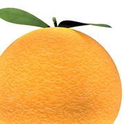 Оранжевый прелоадер 3d model