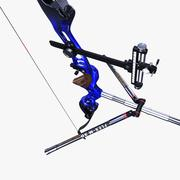 Recurve Bow Olimpic 3d model