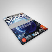Animated Magazine Paper 3d model