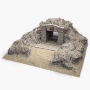 Вход в пещеру 3 3d model