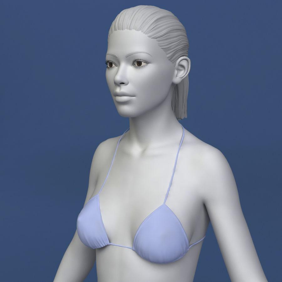 3D Asian Girl asian woman 3d model $29 - .unknown .max .obj .fbx - free3d