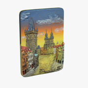Prague Magnet Souvenir 3d model