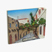 Rhodes Greece Magnet Souvenir 3d model