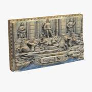 Rom Italien Magnet Souvenir 3 3d model