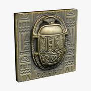 エジプト磁石のお土産 3d model