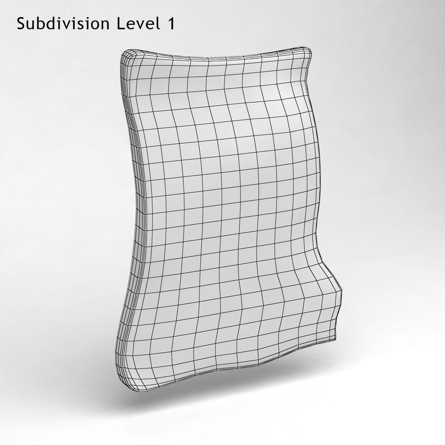巴黎磁铁纪念品3 royalty-free 3d model - Preview no. 6