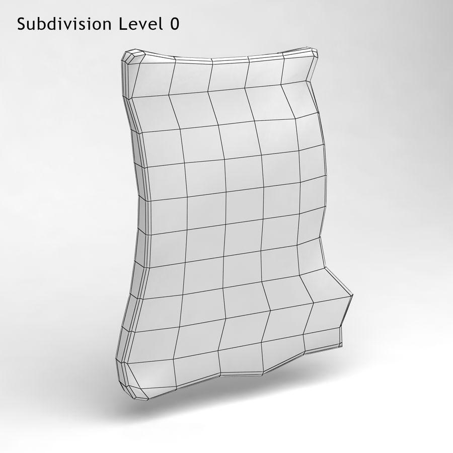 巴黎磁铁纪念品3 royalty-free 3d model - Preview no. 5