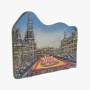 布鲁塞尔比利时纪念品磁铁 3d model