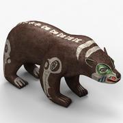 인디안 곰 3d model