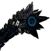 Robotic Worm - Cyber War Beast V1 3d model