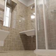Baño de alta poli modelo 3d