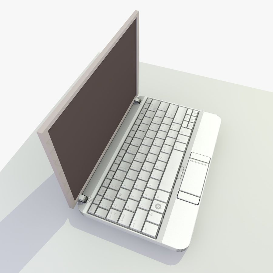 Laptop royalty-free 3d model - Preview no. 8