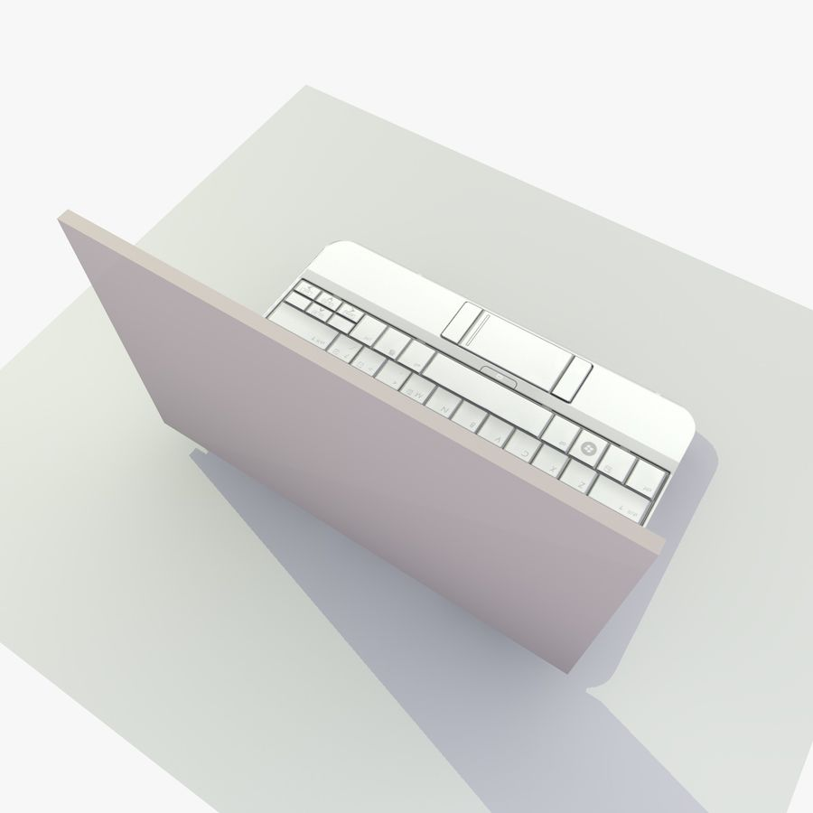Laptop royalty-free 3d model - Preview no. 9