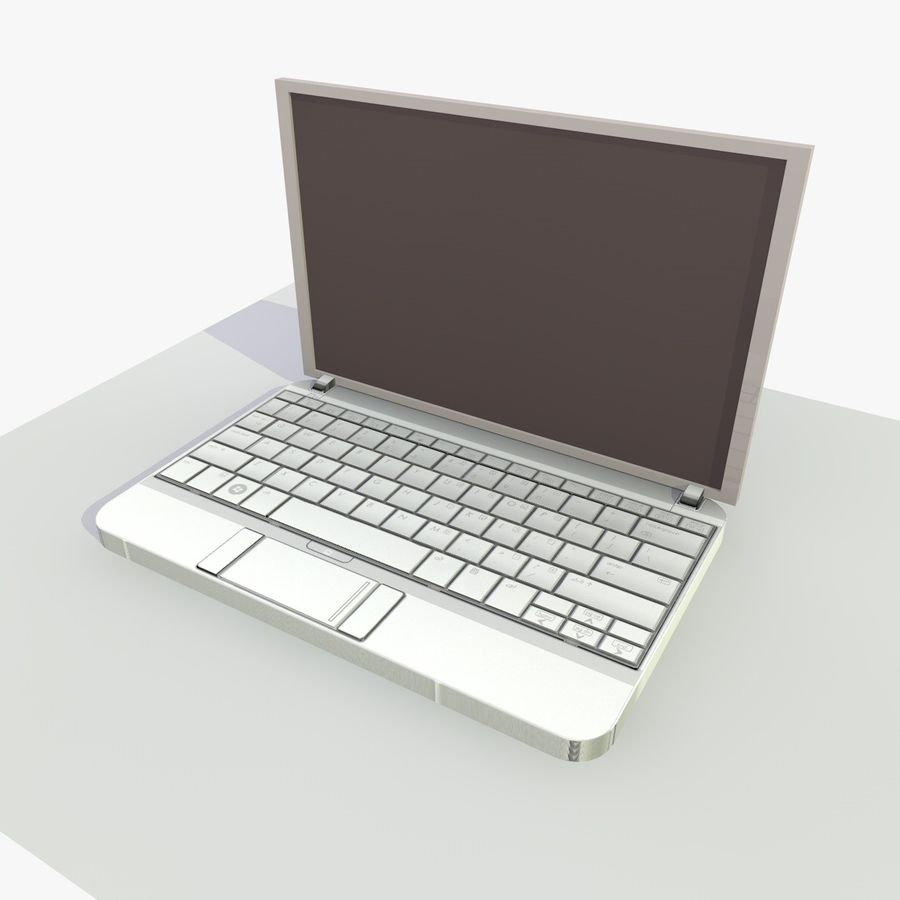 Laptop royalty-free 3d model - Preview no. 3