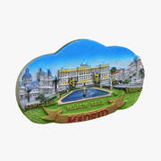 Madrid Spain Magnet Souvenir 3d model