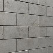 Bakstenen muur # 02 3d model