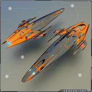яхта 3d model