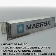 Raccolta dettagliata del contenitore di carico 3d model