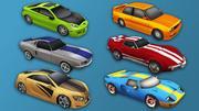 Sport Car Pack 1 3d model