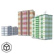 Building pack 1 3d model