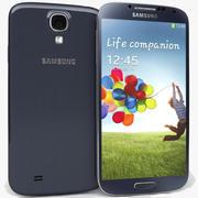 Samsung Galaxy S4 I9500ブルー 3d model
