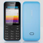 Nokia 207 3d model